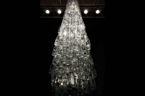 arvoregarrafas 01 e1324299954748 Natal Ecológico   Árvore de natal com garrafas
