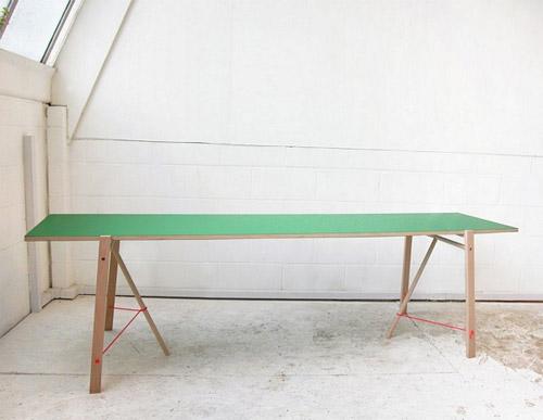 cavalete 06 Inspiração: 19 Mesas com Cavaletes