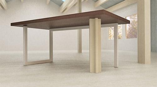 cavalete 09a Inspiração: 19 Mesas com Cavaletes