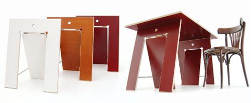 cavalete 16 Inspiração: 19 Mesas com Cavaletes