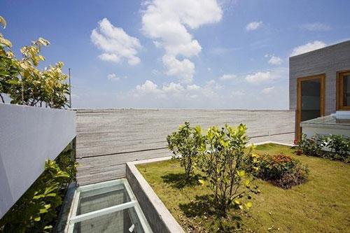 casa jardim 01 Fachada verde permite horta em todos os andares
