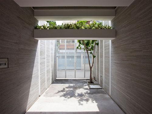 casa jardim 04 Fachada verde permite horta em todos os andares