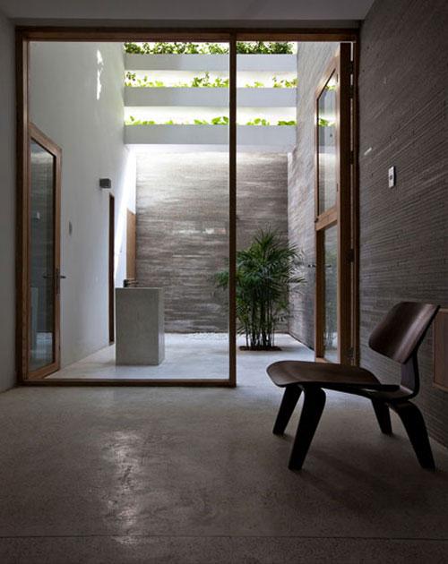 casa jardim 05 Fachada verde permite horta em todos os andares