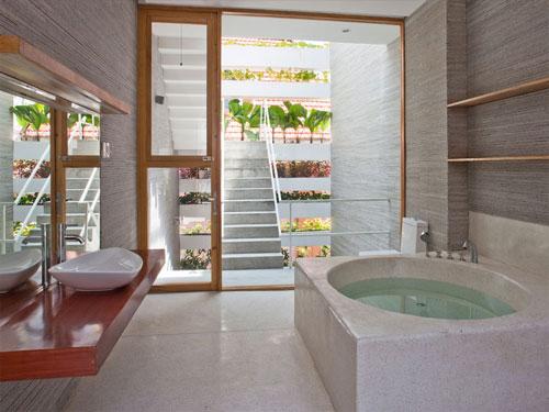casa jardim 10 Fachada verde permite horta em todos os andares