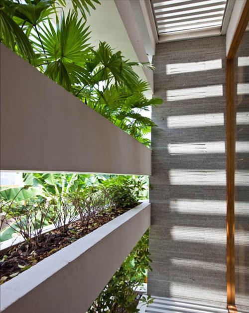 casa jardim 13 Fachada verde permite horta em todos os andares