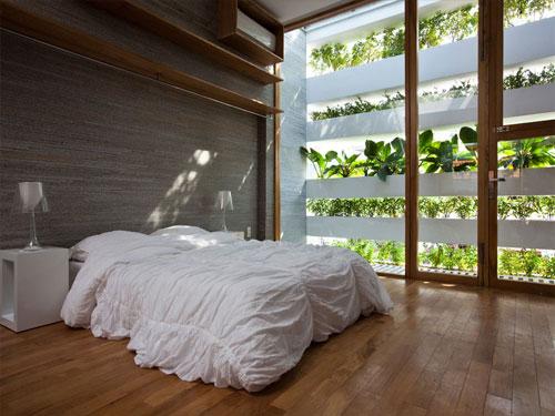casa jardim 14 Fachada verde permite horta em todos os andares