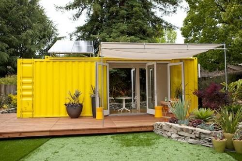 10027602 0186c56468 Sunset Idea House 2011   Casa contêiner