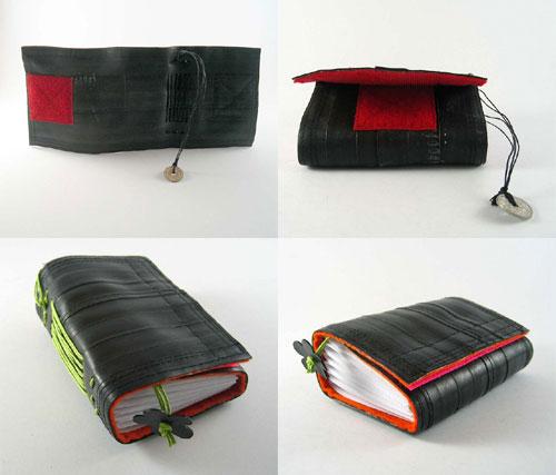 10033168 fcc8284bf0 o Cadernos com capa de câmara de bicicleta
