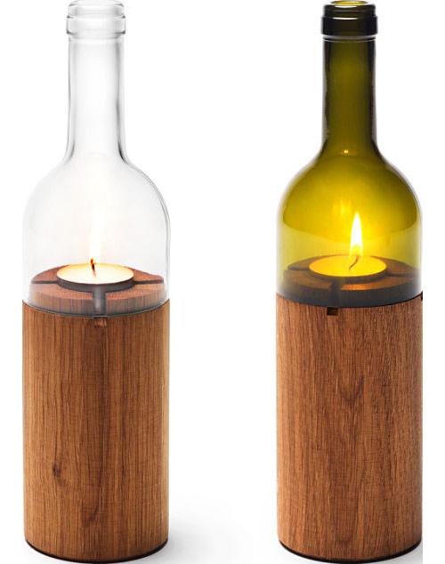 9699607 f0619f878b o Vela com garrafa de vinho