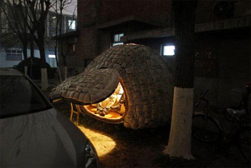 9827145 8e2f05b6d8 o Casa ecológica em forma de ovo