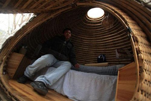 9827149 fbfb4324db o Casa ecológica em forma de ovo