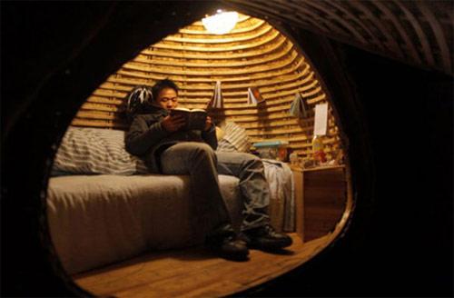 9827154 8b4bde47b5 o Casa ecológica em forma de ovo