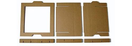 9858469 6b0dbadcf0 o Estante modular de papelão em forma de caixas