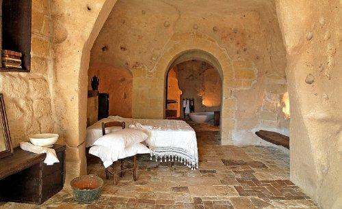 hotel caverna le grotte della civita 18 Hotel dentro de uma caverna na Itália