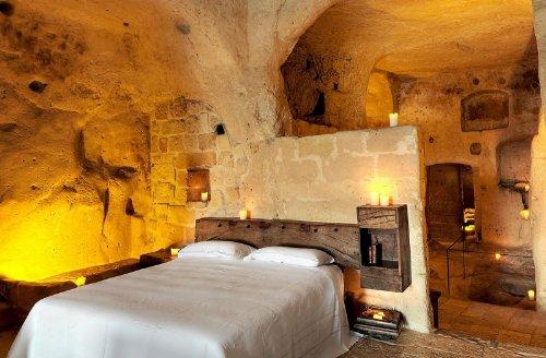 hotel caverna le grotte della civita 2 Hotel dentro de uma caverna na Itália