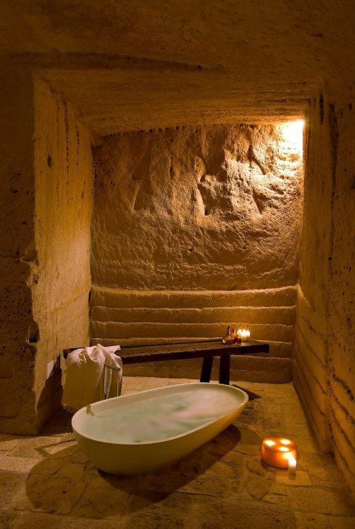 hotel caverna le grotte della civita 3 Hotel dentro de uma caverna na Itália