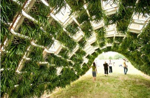 pavilhao vivo verde 8 Pavilhão vivo: trazendo o verde para a cidade
