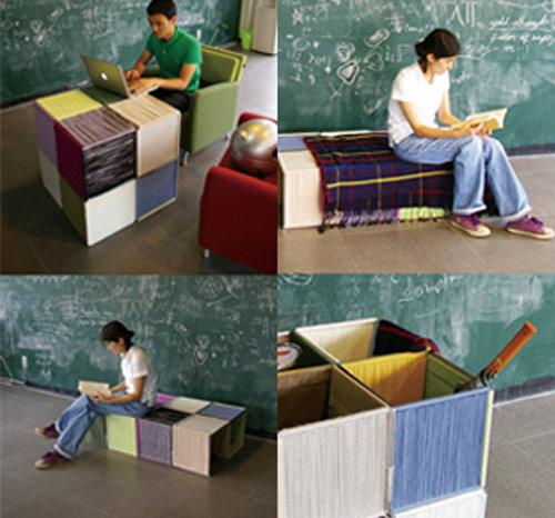 puzzlefurniture Mobiliário como um quebra cabeça