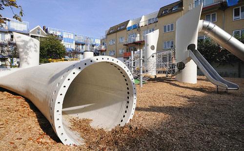parquinho helice eolica 51 Parquinho com hélices de turbina eólica