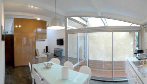 garagem casa 01 Garagem de 40 m² transformada em uma casa moderna