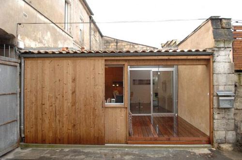 garagem casa 03 Garagem de 40 m² transformada em uma casa moderna