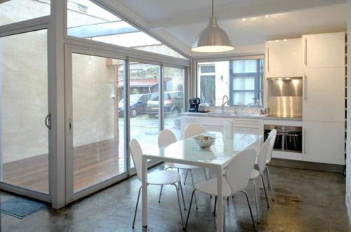garagem casa 04 Garagem de 40 m² transformada em uma casa moderna