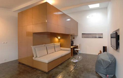 garagem casa 06 Garagem de 40 m² transformada em uma casa moderna