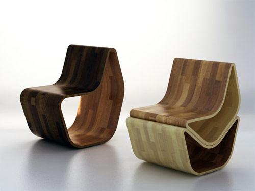gval ottoman 03 Cadeira GVAL   Duas ottomans em uma cadeira