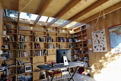 hackney shed 04 Hackney Shed   Escritório no jardim