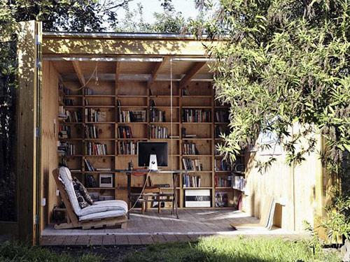 hackney shed 05 Hackney Shed   Escritório no jardim