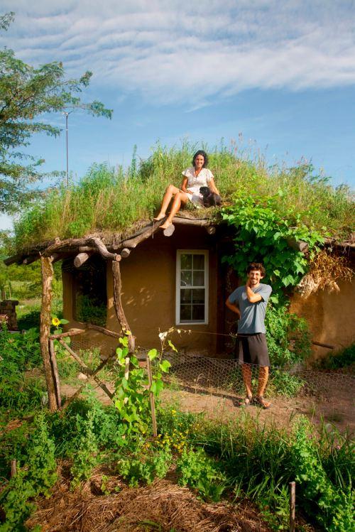 ZZ0AE354CE Construindo uma casa natural
