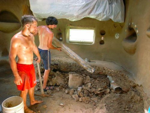 ZZ4421722B Construindo uma casa natural