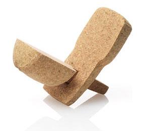 dwrchampagne05ru6 Cadeiras feitas de rolha de Champagne