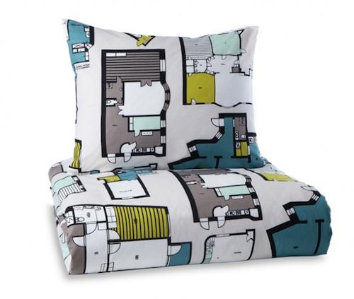 roupa cama planta baixa 01 Roupa de cama para arquitetos(as)
