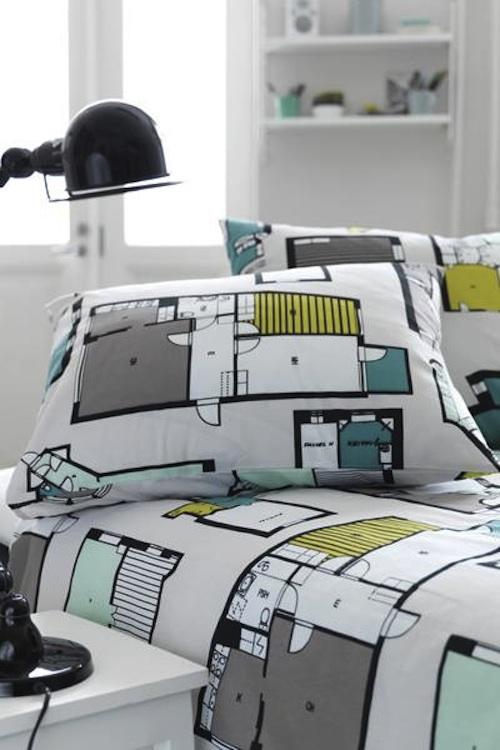 roupa cama planta baixa 03 Roupa de cama para arquitetos(as)