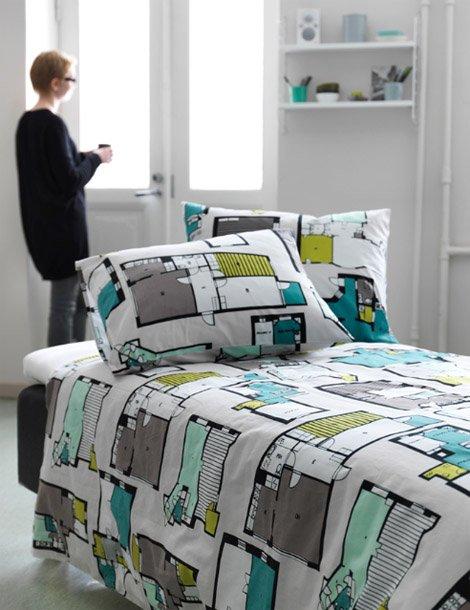roupa cama planta baixa 04 Roupa de cama para arquitetos(as)