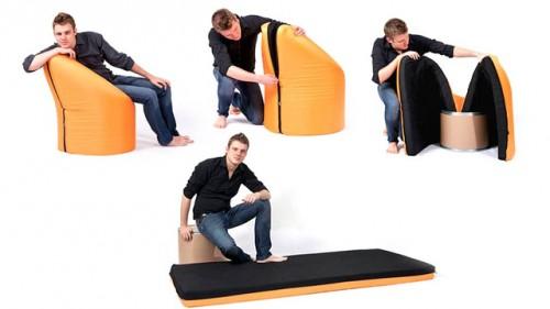 cadeira cama solteiro 01 500x281 Poltrona com cama de solteiro