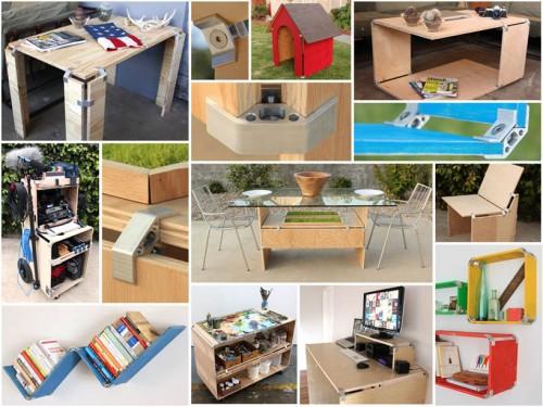 conector mobiliario modular 05 500x375 Lego para adultos   fazendo o seu mobiliário