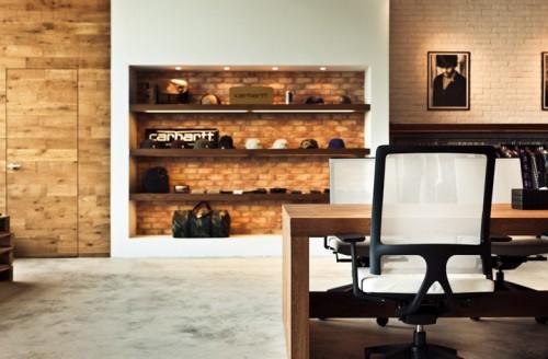 carhartt work escritorio 14 500x328 Escritório e Showroom em Hong Kong