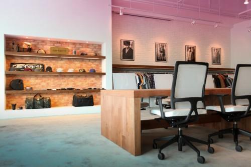 carhartt work escritorio 19 500x333 Escritório e Showroom em Hong Kong