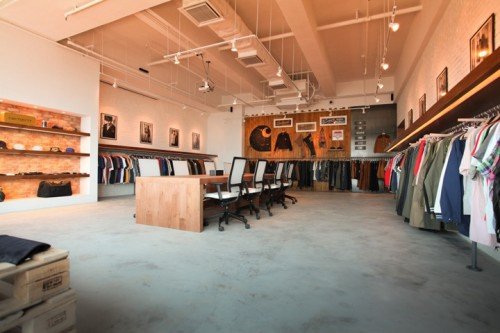 carhartt work escritorio 21 500x333 Escritório e Showroom em Hong Kong