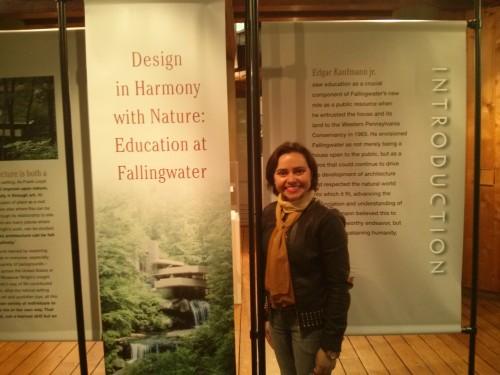 rodrigobarba casadacascata fallingwater 04 500x375 Uma visita a Casa da Cascata de Frank Lloyd Wright