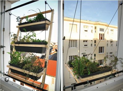 horta janela 02 Tá faltando espaço para fazer uma horta?